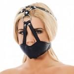Rimba - Muzzle i lær - gag