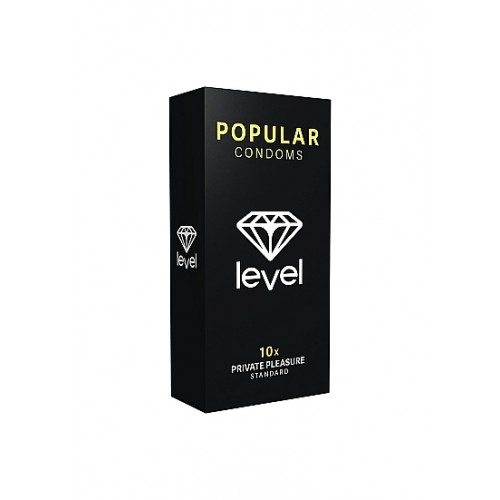 Level Popular - Standard kondomer 10 stk
