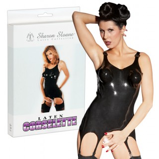 Sharon Sloane - Latex Suspender Corset