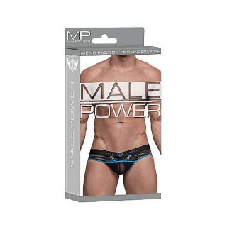 Male power - Clip Thong - String med Åpning
